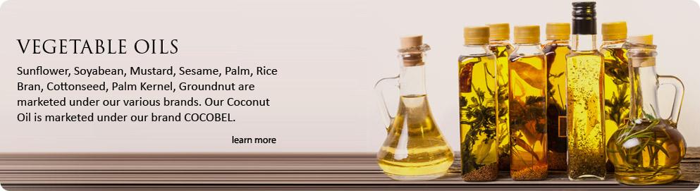 Edible Oils | Refined Sunflower Oil | Mustard Oil | Coconut Oil